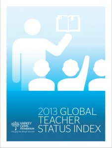 Teacher Status Index 2013 report published by the Varkey GEMS Foundation